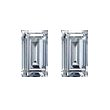 Baguette Diamond Pairs 0.51ct - F/G VS+