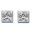Princess Cut Diamond Pairs 0.93ct - F/G VS+