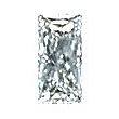 Baguillion Cut Diamond 0.26ct - E VVS2