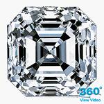 Asscher Cut Diamond 1.81ct - D VVS1