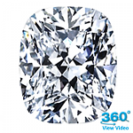 Cushion Cut Diamond 0.92ct - E VS2