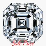 Asscher Cut Diamond 0.74ct - F VVS2
