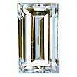 Baguette Cut Diamond 0.50ct - E VVS2