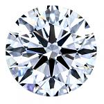 Round Brilliant Cut Diamond 0.22ct - F VS1