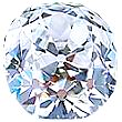 Old Mine Cut Diamond 0.43ct - F SI2