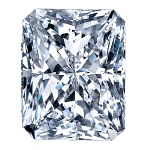 Radiant Cut Diamond 0.40ct - E VS1
