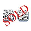 Radiant Cut Diamond Pairs 0.57ct - F/G VS+