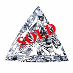 Trilliant Cut Diamond 0.33ct - D SI1