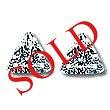 Trilliant Diamond Pairs 0.66ct - E/F VS