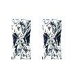 Baguillion Diamond Pairs 0.31ct - F VS