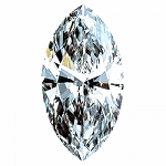 Marquise Cut Diamond 0.26ct - E VS2