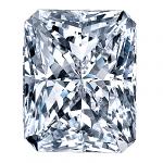 Radiant Cut Diamond 0.51ct - E SI1