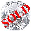 Old Mine Cut Diamond 0.62ct - M VS2