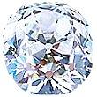Old Mine Cut Diamond 0.43ct - F SI1