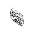 Leaf Cut Diamond 0.50ct - F SI1