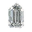 Bullet Cut Diamond 0.32ct - I SI1