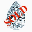 Pear Shape Diamond 0.24ct - D VS1