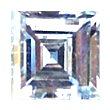 Carrè Cut Diamond 0.39ct - E VVS2