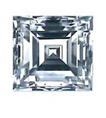 Carrè Cut Diamond 0.41ct - E VVS2