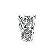 Tapered Radiant Cut Diamond 0.30ct - I VS1