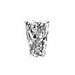 Tapered Radiant Cut Diamond 0.31ct - J VVS2