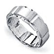 Wedding Ring - Gents Wedder - Buckle Design Band