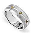 Wedding Ring - Gents Wedder - Rivet Design Band