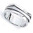 Wedding Ring - Gents Wedder - Arrow Design Band