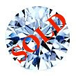 Round Brilliant Cut Diamond 0.41ct - D IF