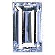 Baguette Cut Diamond 0.43ct - E VS2
