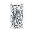 Baguillion Cut Diamond 0.35ct - H VS1