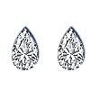 Pear Shape Diamond Pairs 0.16ct - G VS
