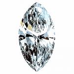 Marquise Cut Diamond 0.55ct - D IF