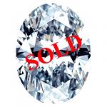 Oval Shape Diamond 0.58ct - F SI1