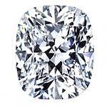 Cushion Cut Diamond 0.70ct - I VVS2