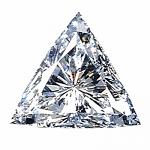 Trilliant Cut Diamond 0.38ct - D VVS1