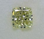Radiant Cut Diamond 0.92ct - Q VS2