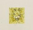 Princess Cut Diamond 0.52ct - SI2 Fancy Yellow
