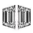 Trapezoid Diamond Pairs 0.41ct - F/G VS