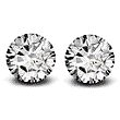 Round Brilliant Cut Diamond Pair - 0.25ctw