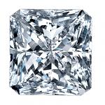 Radiant Cut Diamond 0.54ct - E SI1