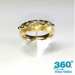 Gold & Diamond Dress Ring
