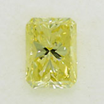 Radiant Cut Diamond 0.30ct - Fancy Yellow VVS2