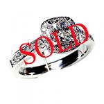 'Halo' Diamond Engagement Ring - Cushion 0.71ct - G VS2