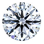 Round Brilliant Cut Diamond 0.61ct - D VVS1