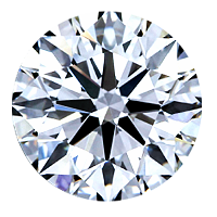 Round Brilliant Cut Diamond 2.54ct - G VS2