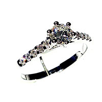 'Sabrina' Diamond Engagement Ring - 0.54cts