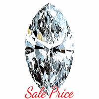 Marquise Cut Diamond 0.72ct - H VS1