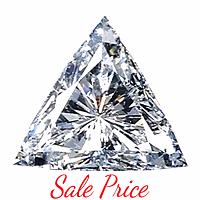 Trilliant Cut Diamond 0.77ct - E SI2
