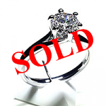 'Alana' Diamond Engagement Ring - 0.60ct - D SI1